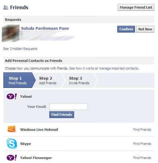 Cara Invite Friend Facebook