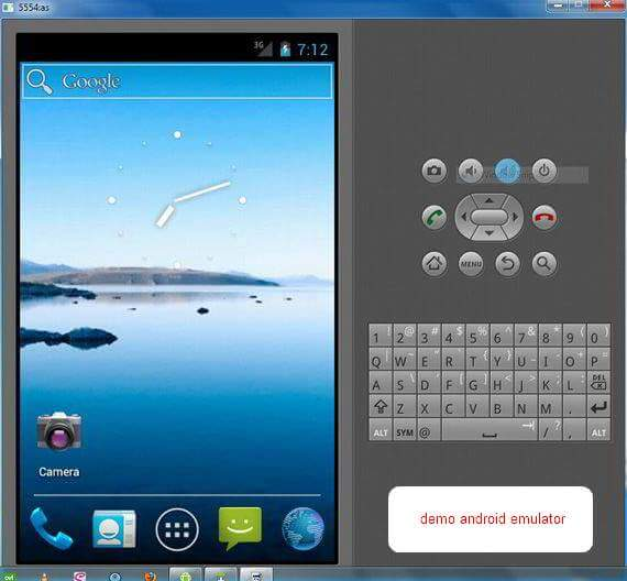 Cara Memakai Android Emulator - Shot1