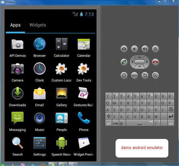 Cara Memakai Android Emulator - Shot2