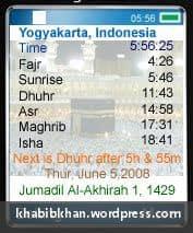 Cara Download Azan Times