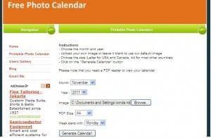 Cara Membuat Kalender - FPC
