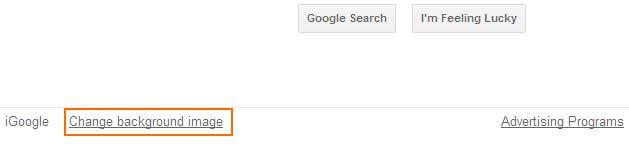 Cara Mengubah Tampilan Google - Option