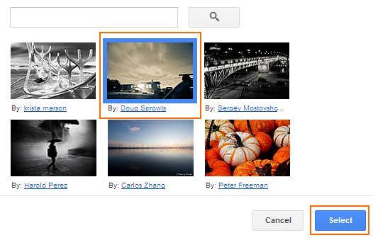 Cara Mengubah Tampilan Google - Choose Image