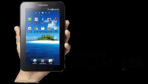 Cara Hotspot via Galaxy Tab