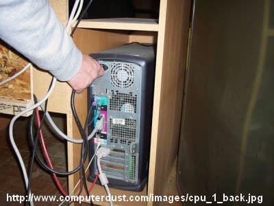 Solusi Harddisk Tidak Terdeteksi  - Remove CPU Cable