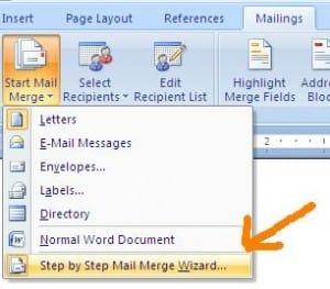 Bagaimana Cara Membuat Mail Merge 01