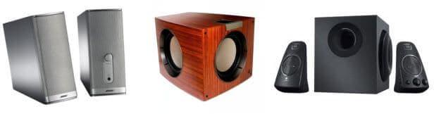 Komponen Sound System - Active Speakers