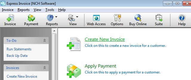 Aplikasi Manajemen Keuangan Invoice Express