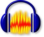 Software Perekam Suara - Audacity Logo