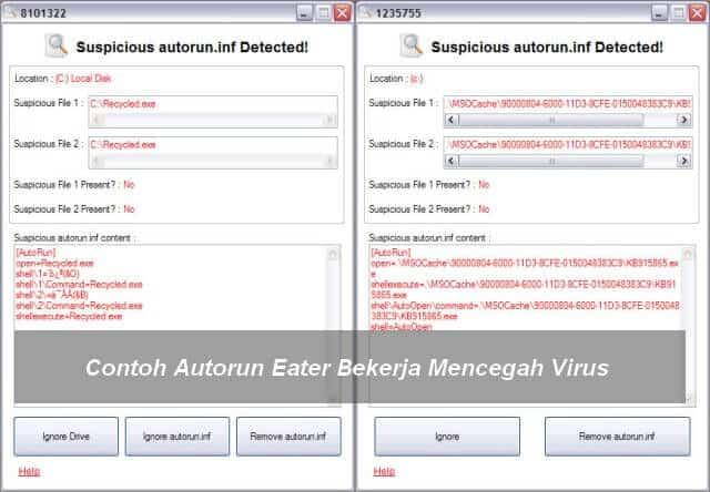AutoRun Eater Mencegah Virus
