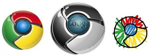 Berbagai Logo Google Chrome