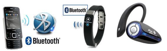 Bluetooth Enabled Devices Examples