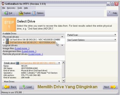 Cara Mengembalikan Data Hilang - Select Drive