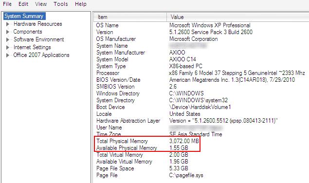 Cara Mengetahui Jumlah Sisa RAM Windows