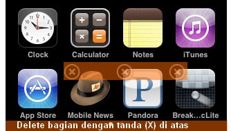 Cara Menghapus Program iPad