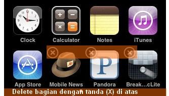 Cara Menghapus Program iPad