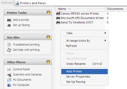 Cara Sharing Printer di Jaringan LAN