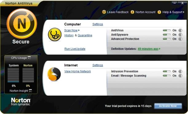 Cara Update Norton Symantec Anti Virus