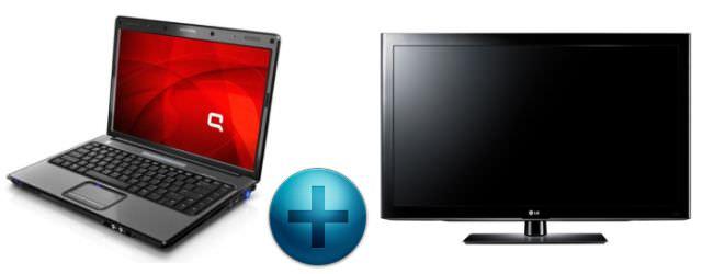 Cara Menghubungkan Komputer dan HDMI TV
