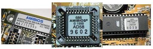 Contoh Chip BIOS AMI
