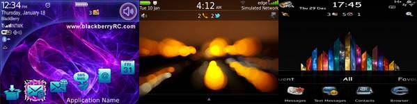 Download Blackberry Themes BlackBerry RC