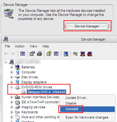 CD-DVD Driver Uninstall