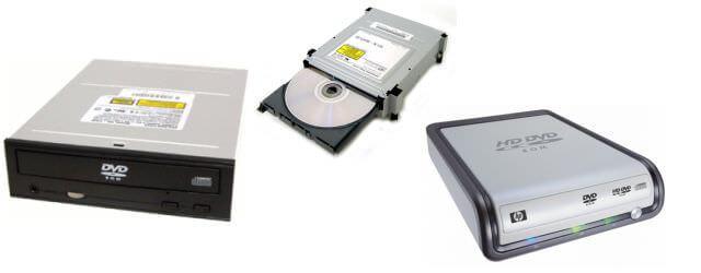 DVD Drive Tidak Terbaca - Device Samples