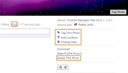 Edit Metadata Foto