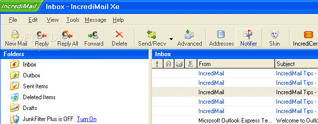 Email Client Incredimail