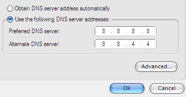 Google Public DNS IP Address