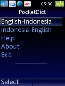 PocketDict Kamus Untuk Handphone