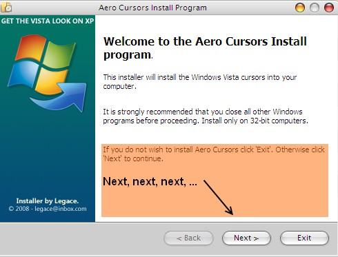 Mengubah Cursor Windows