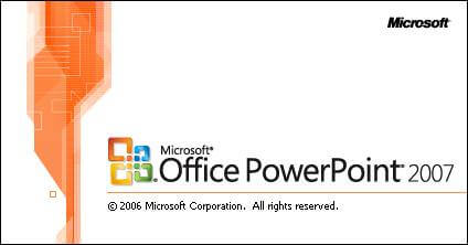 Microsoft PowerPoint Splash Screen