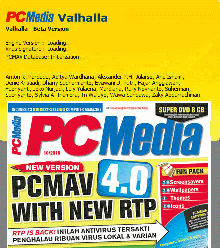 PCMAV - PC Media Anti Virus