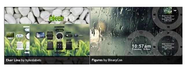 Percantik Desktop - Rainmeter Modding