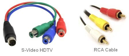 S-Video and RCA Cable