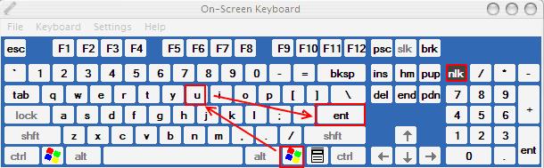 Cara Shutdown Cepat : Windows + U + Enter