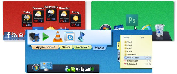 Percantik Tampilan Windows - ObjectDock