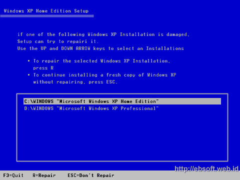 Cara Repair Windows XP - 3