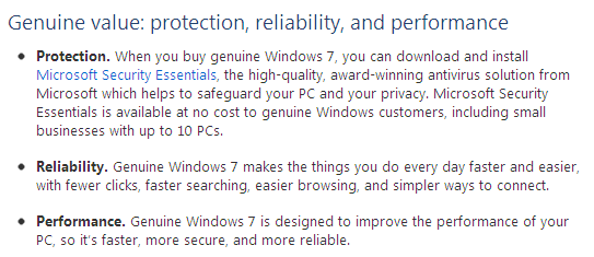 Windows Genuine Advantage - Why Genuine?