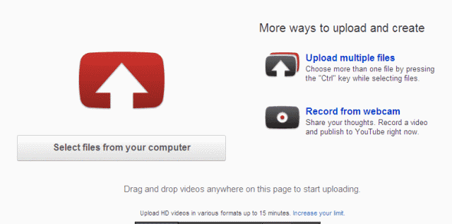 Cara Upload Video ke Youtube - Select File